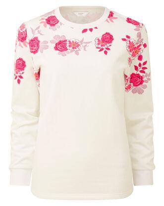 Ivory Printed Sweatshirt