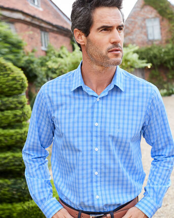 Long Sleeve Easy Iron Taylor Shirt