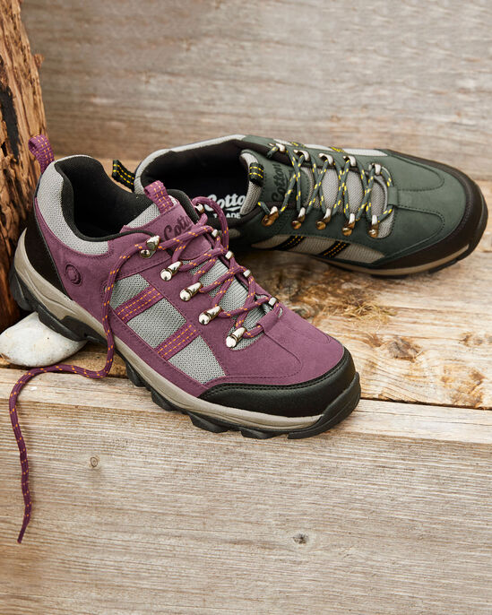 Lightweight Lace-up Trekker Shoes