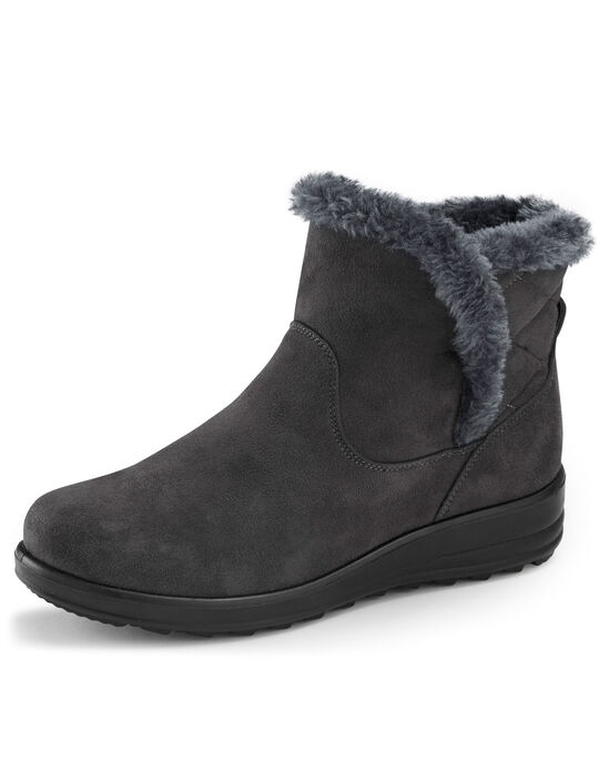 Flexi Quilted Snug Boots