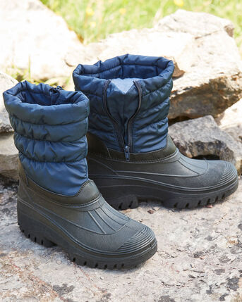 Side Zip Highland Waterproof Boots