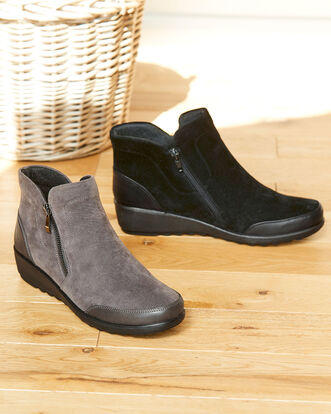 Flexisole Zip Ankle Boots