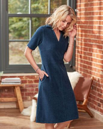 Effortless Jersey Cord Midi Dress