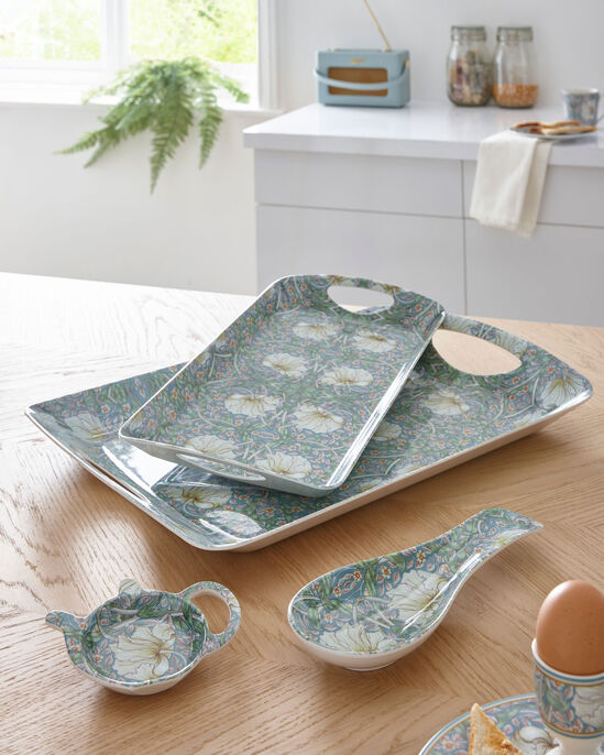 William Morris Pimpernel 4 Piece Tray and Tidy Set
