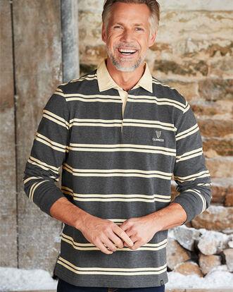 Guinness® Long Sleeve Stripe Rugby Shirt