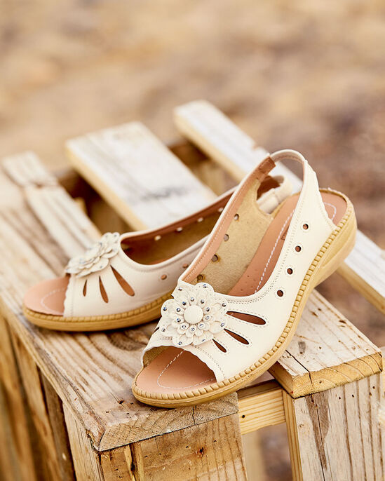 Ladies' Flexisole Flower Sandal