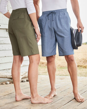 Cotton Pull-on Shorts