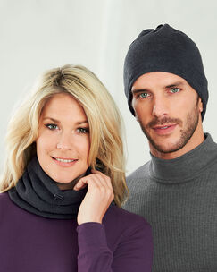 2-in-1 Fleece Neck Warmer