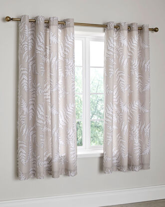 Marlow Eyelet Curtains 66X72""