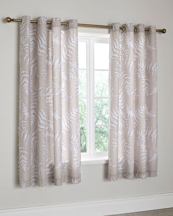 "Marlow Eyelet Curtains 66X72"""