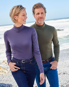 Long Sleeve Roll Neck Top