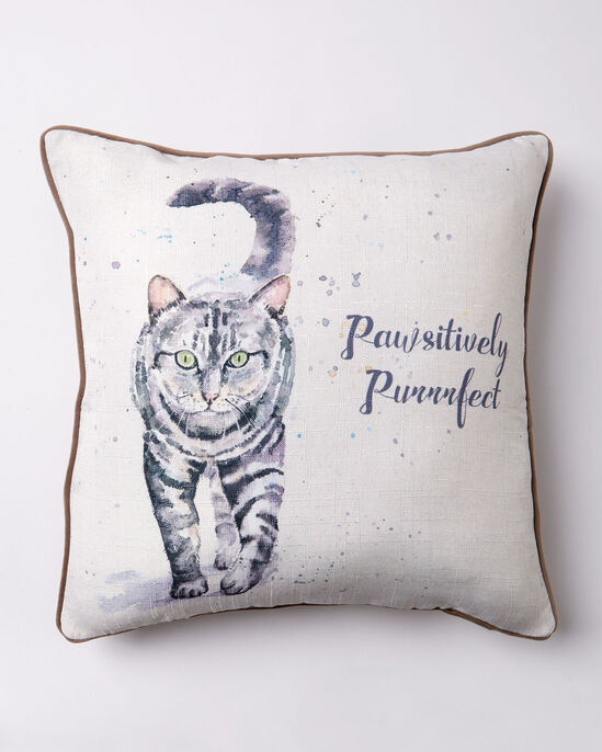 Pawsitively Purrfect Cushion