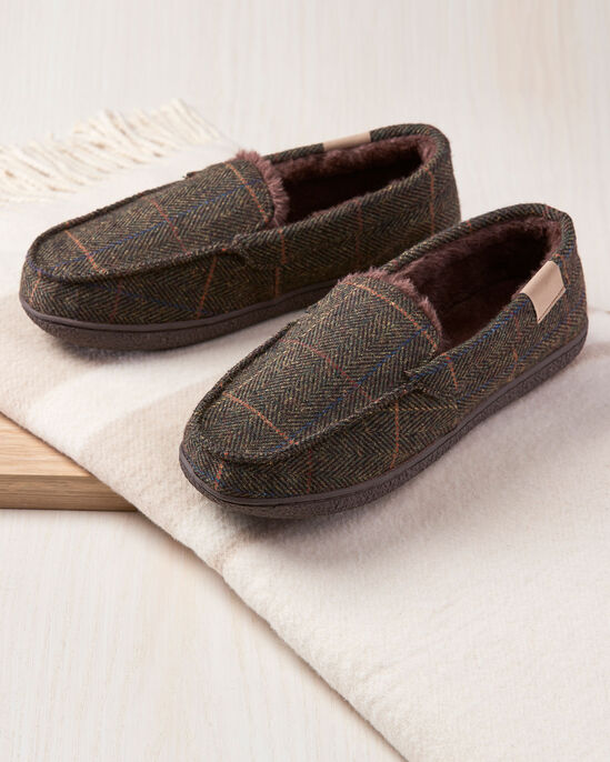 Plush Moccasin Slippers