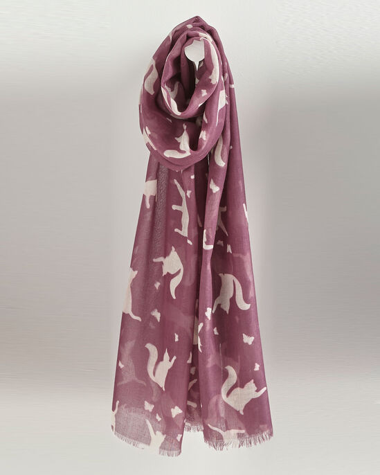 Cat and Butterfly Scarf
