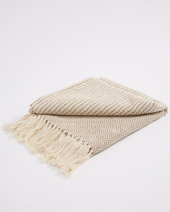 Oxford Cotton Throw Small