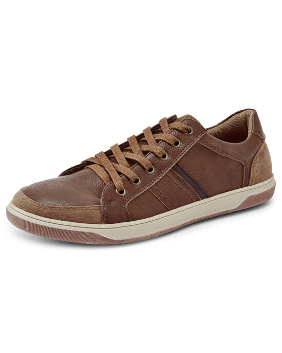 Cushioned Lace-up Trainers