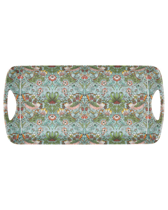 William Morris Strawberry Thief 4pc Tray and Tidy Set