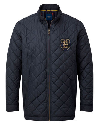 Three Lions Quilted Jacket