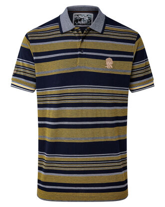 England Rose Stripe Polo Shirt
