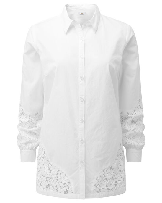 Lace Trim Shirt