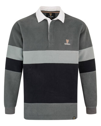 Guinness Cut and Sew Fleece Rugby Shirt