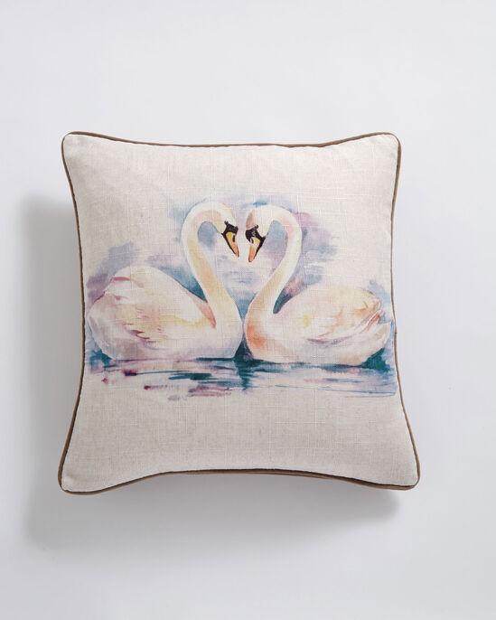 Elegant Bird Cushion
