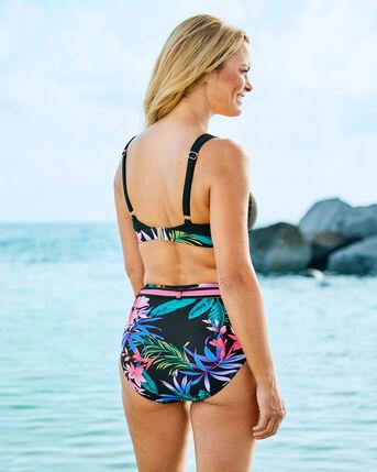 Contrast Panel Bikini Top