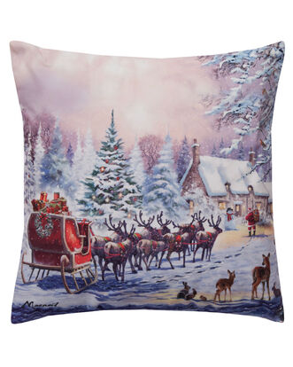 Magic of Christmas Light Up Cushion