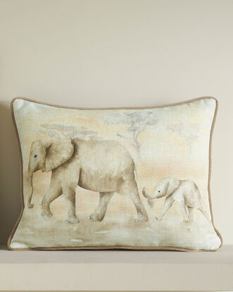Baby Elephants Cushion