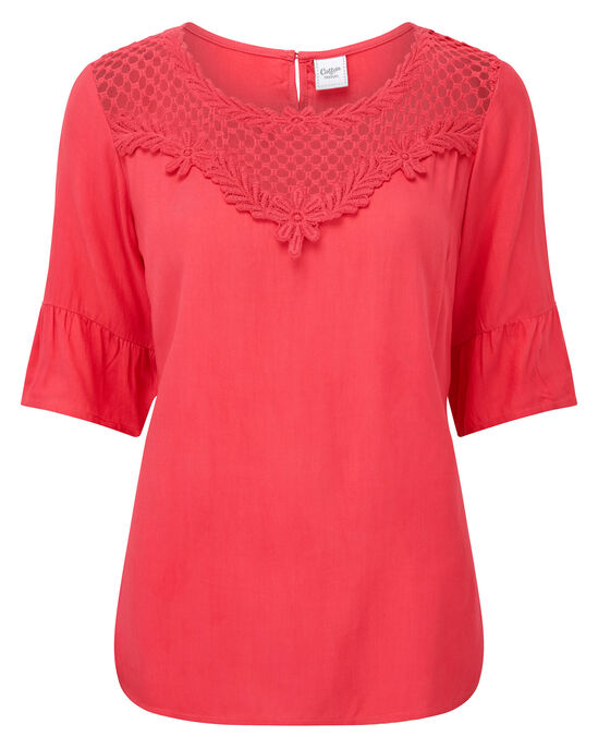 Lace Panel Top