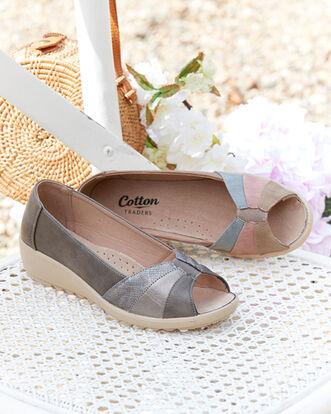 Flexisole Peep Toe Shoes
