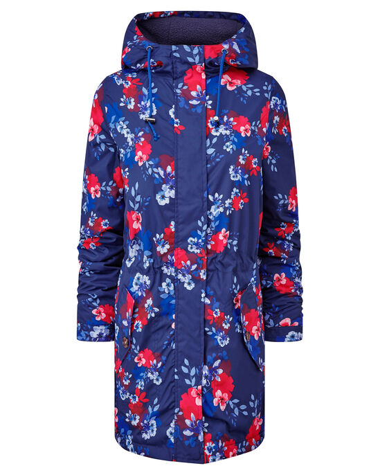 Showerproof Fleece Lined Printed Jacket
