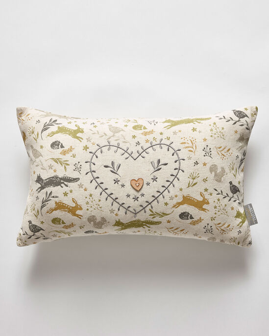 Country Embellished Cushion