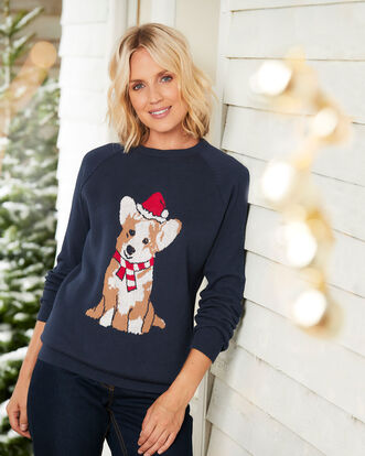 Crew Neck Novelty Jumper