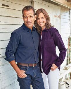 Long Sleeve Cord Shirt
