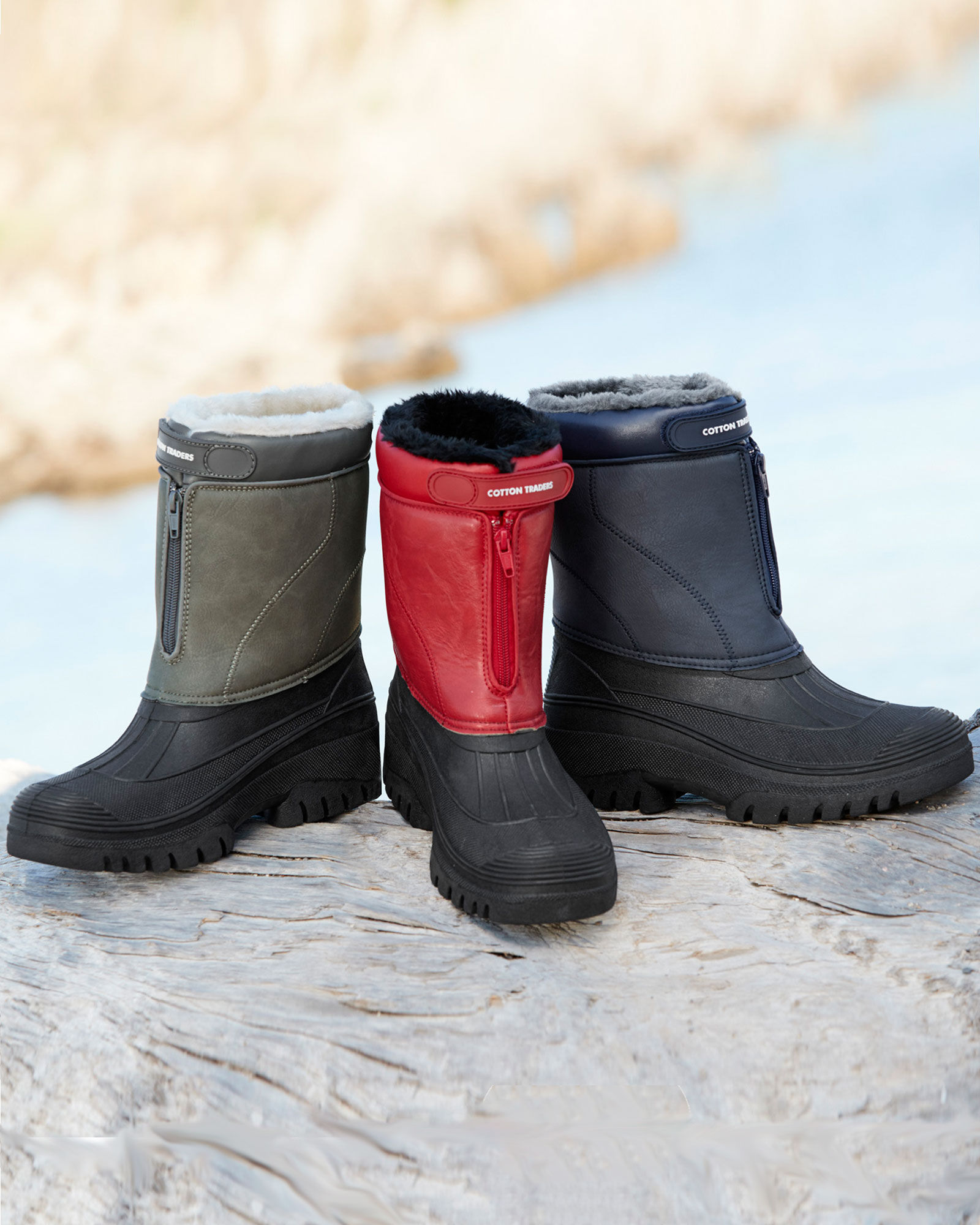 Waterproof Highland Faux Fur Lined Boots