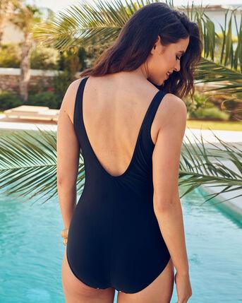 Spot Trim Swimsuit