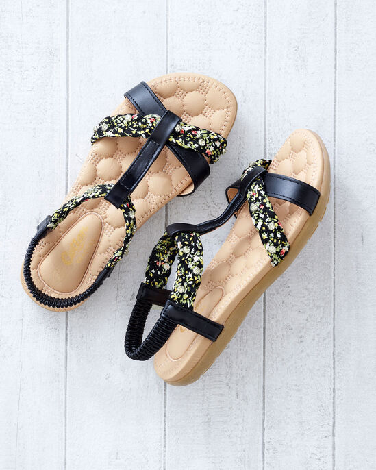 Cushioned Patterned Sandals