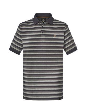 Guinness® Short Sleeve Jersey Stripe Polo Shirt