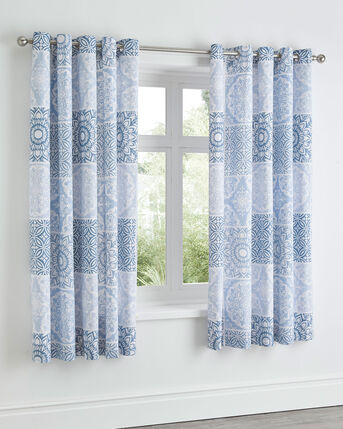 Lacey Eyelet Curtains