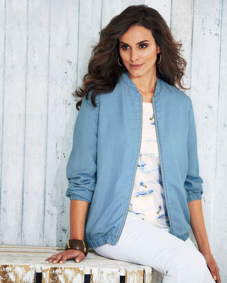 Elasticated Hem Jacket
