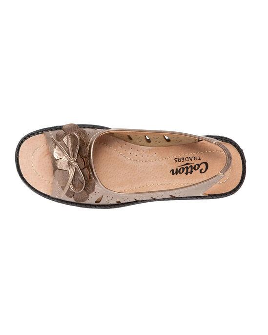 Flexisole Bow Trim Sandal