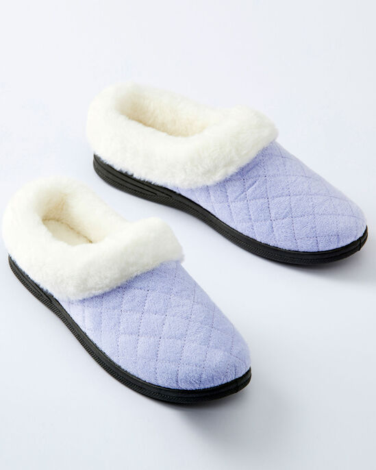 Diamond Mule Slippers