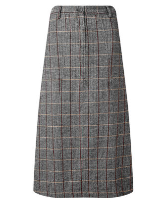 Black Side Elasticated Waist Skirt