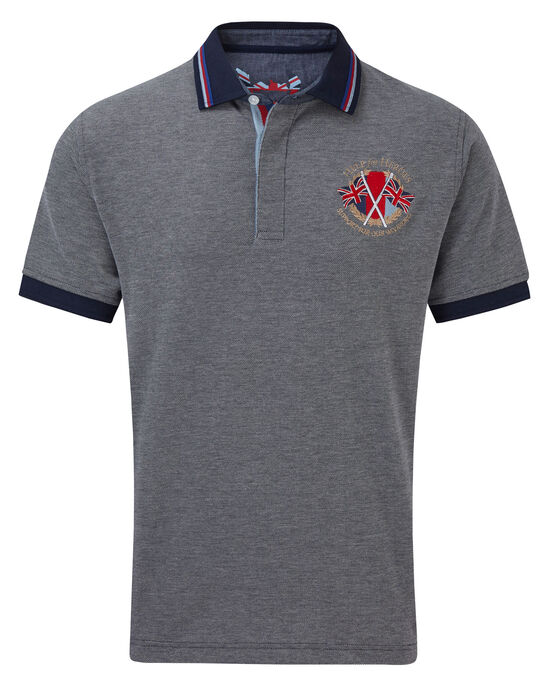 Help For Heroes Contrast Collar Polo Shirt