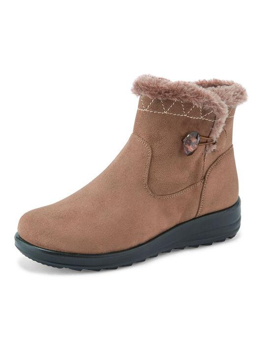 Flexisole Button Detail Snug Boots