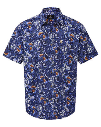 Guinness Short Sleeve Soft Touch Paisley Shirt