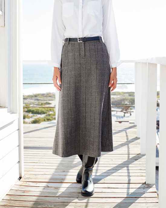 ed05ab9e0d Side Elasticated Waist Skirt at Cotton Traders
