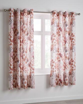 "Harewood Eyelet Curtains 66x72"""
