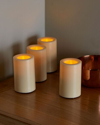 4 Flameless LED Candles